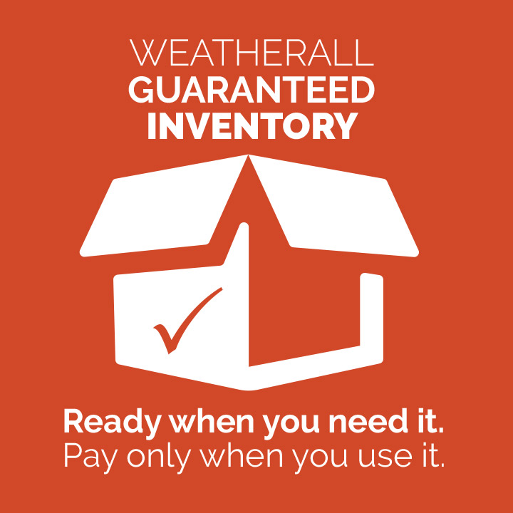Weatherall Guaranteed Inventory